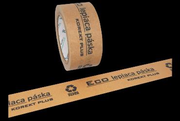 Papierové  Eco lepiace pásky